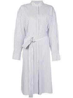 Jason Wu поплиновое платье-рубашка в полоску