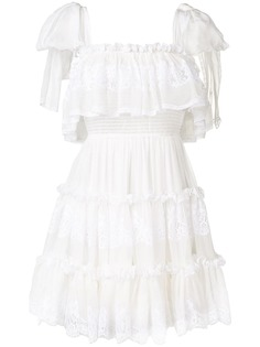 Dolce & Gabbana платье с оборками