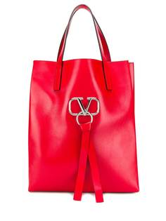 Valentino Garavani сумка-тоут с декором VRing