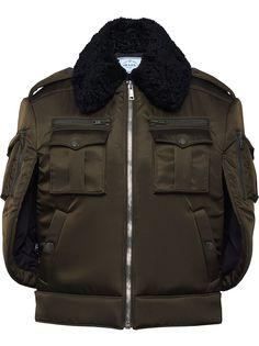Prada куртка-кейп