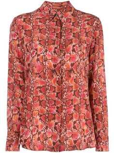 Altuzarra креповая блузка Chika