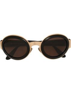 Christian Dior солнцезащитные очки CD в овальной оправе pre-owned