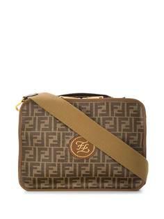 Fendi дорожная сумка с узором FF
