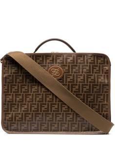 Fendi дорожная сумка Mania с узором FF
