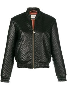 Gucci стеганая куртка-бомбер