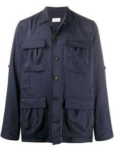 Brioni куртка-рубашка свободного кроя