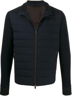 Ermenegildo Zegna куртка с вязаными рукавами