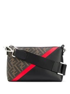 Fendi сумка через плечо с логотипом FF
