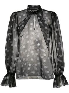 Dolce & Gabbana блузка в горох