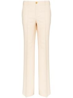 Gucci расклешенные брюки с завышенной талией
