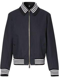 Burberry куртка-бомбер со съемным воротником