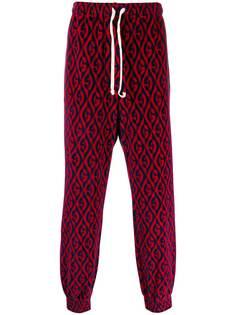 Gucci спортивные брюки с логотипом