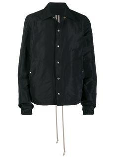 Rick Owens куртка-рубашка свободного кроя