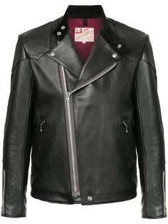 Addict Clothes Japan байкерская куртка в винтажном стиле