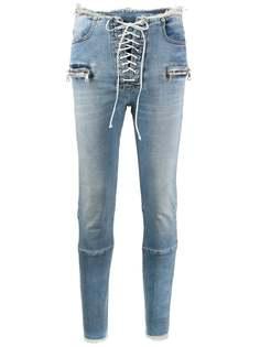 UNRAVEL PROJECT джинсы скинни средней посадки