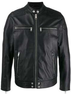 Diesel куртка с нашивкой-логотипом