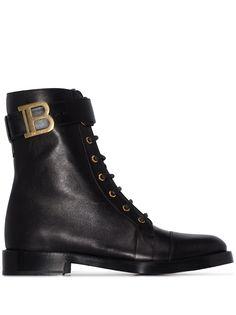 Balmain ботинки Ranger на шнуровке