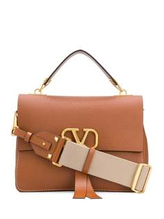 Valentino Garavani сумка-тоут с логотипом VRing