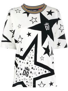 Dolce & Gabbana футболка Millennials Star с принтом