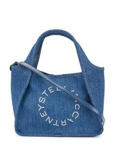 Stella McCartney джинсовая сумка-тоут Stella Logo