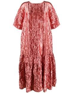 Rochas платье-туника с жатым эффектом