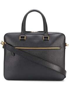 Salvatore Ferragamo портфель с тисненым логотипом