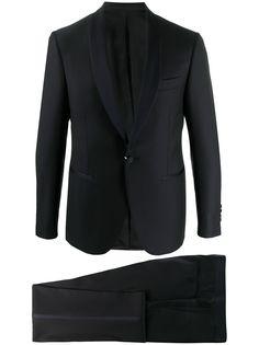 Canali смокинг с однобортным пиджаком