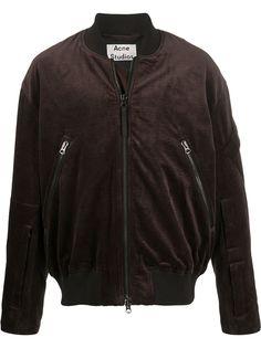 Acne Studios вельветовая куртка-бомбер