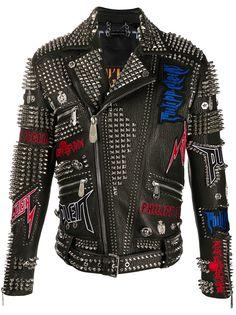 Philipp Plein байкерская куртка