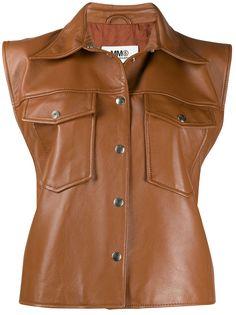 MM6 Maison Margiela куртка без рукавов