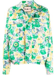 Plan C куртка-рубашка свободного кроя