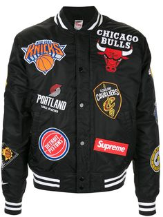 Supreme куртка-бомбер Nike/NBA из коллекции SS18