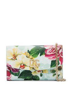Dolce & Gabbana клатч с цветочным принтом