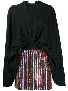 Amen короткое платье с пайетками