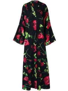 Dolce & Gabbana платье-кимоно с принтом