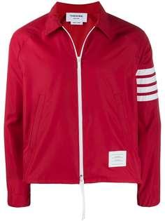 Thom Browne куртка с полосками 4-Bar