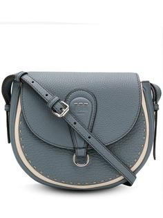 Fendi сумка через плечо с декоративной строчкой