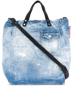 Dsquared2 джинсовая сумка-тоут
