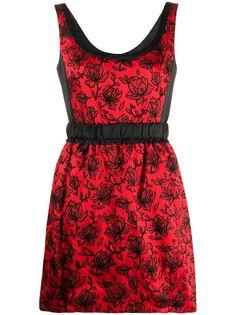 Louis Vuitton платье с цветочным принтом