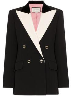 Gucci пиджак-смокинг строгого кроя