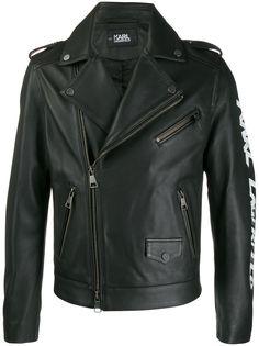 Karl Lagerfeld байкерская куртка Karl Legend
