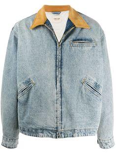 Fear Of God джинсовая куртка с контрастным воротником