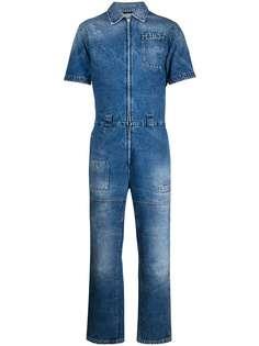 Fendi джинсовый комбинезон