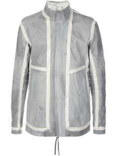 Boris Bidjan Saberi куртка с контрастными полосками