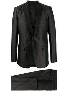 Dolce & Gabbana вечерний костюм-тройка в горох