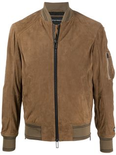 Emporio Armani короткая куртка-бомбер