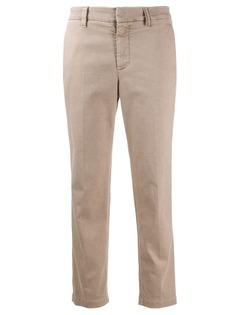 Brunello Cucinelli брюки чинос кроя слим