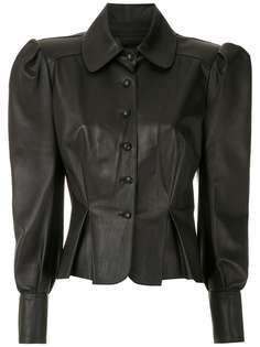 Andrea Bogosian блузка с корсетом