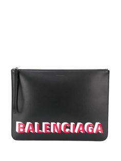 Balenciaga клатч с логотипом