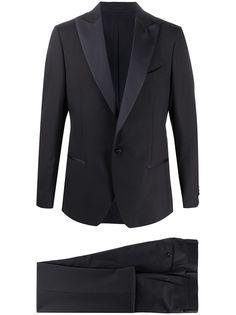 Delloglio вечерний костюм-двойка с однобортным пиджаком Dell'oglio